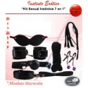 Kit Juego Sexual Instintos 7 en 1