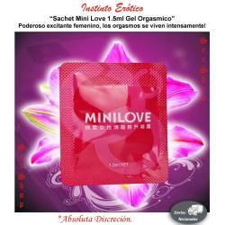 Sachet MINI Love Gel Orgasmico para Mujer