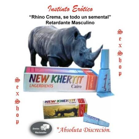 Rhino Crema, se todo un semental