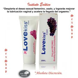 Lubricante LoveKiss Cream